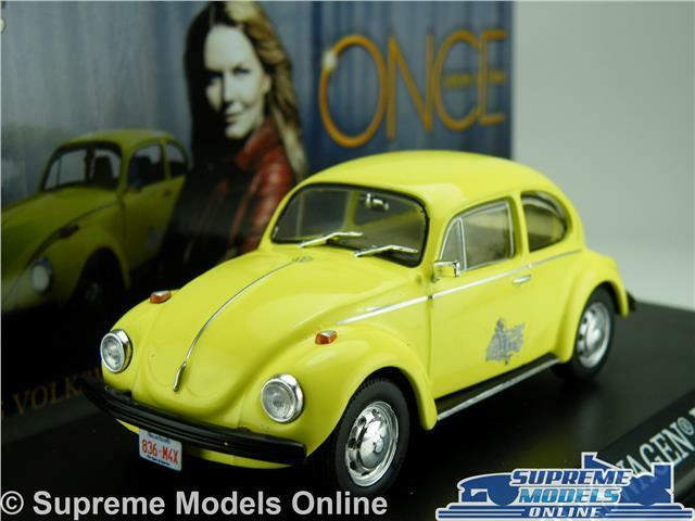 ONCE UPON A TIME VOLKSWAGEN BEETLE CAR MODEL 1 43 SIZE GREENLIGHT 86494 EMMA K8Q