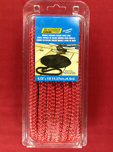 DOCK-LINE-DOUBLE-BRAIDED-NYLON-ROPE-1-2-034-x-15-039-RED-SEACHOICE-39741