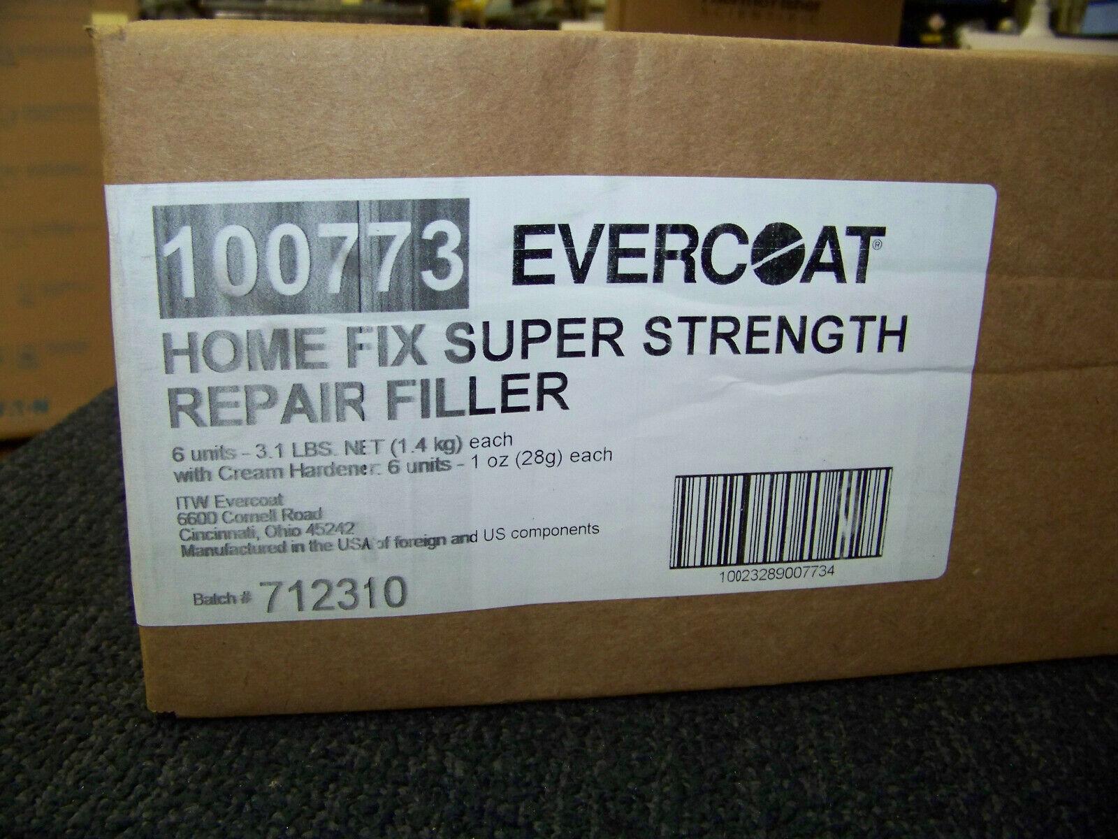 Evercoat  Home Fix  Brown  Universal Repair Filler  1 qt.