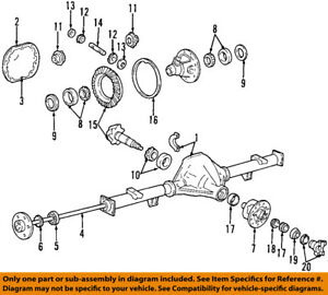 image is loading ford-oem-rear-axle-differential-pumpkin-cover-gasket-