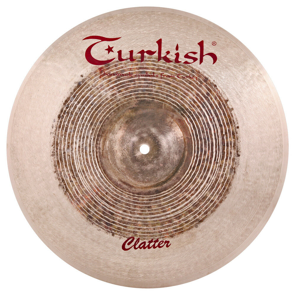 Turkish Cymbals Effects Series 15  Clatter Crash Cymbals  CT-C15
