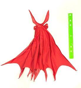 No Figure Custom XL Dark Red wired cape for McFarlane Spawn SU-C-SPD-XL
