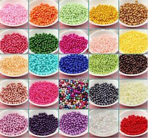 Lot-50-Perle-imitation-Brillant-6mm-Couleur-au-choix-Creation-Bijox-Collier