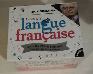 Nouvelle Boite 9782501092876 De Edition 500 Orsenna Questions La Langue Erik Française 78qqU
