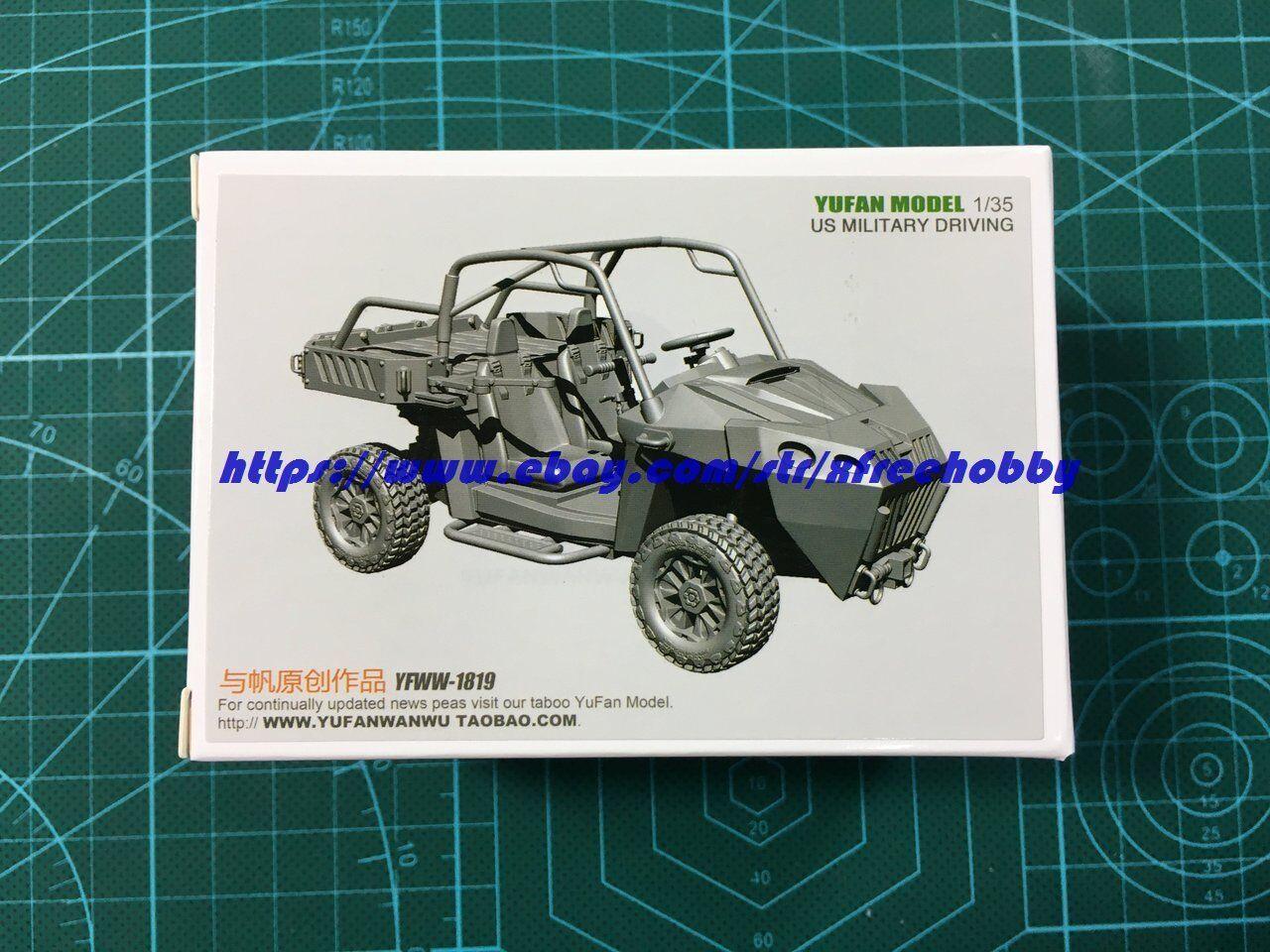 YUFAN 1819 1 35 U.S. Military Driving - All Terrain Vehicle (ATV)