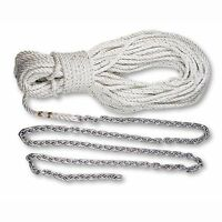 Lewmar 69000334 Premium 3-strand Rode 200' X1/2 Rope 15' X1/4 Chain on sale
