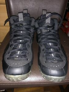 new concept 163a2 71c49 Details about NIKE AIR FOAMPOSITE ONE 1 STEALTH BLACK Men's 2012 314996-010  Size 11