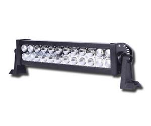 12 V 24 V DEL Lampe de Travail Spot 51 W Offroad Truck Spot SUV Voiture ATV Boat Bar