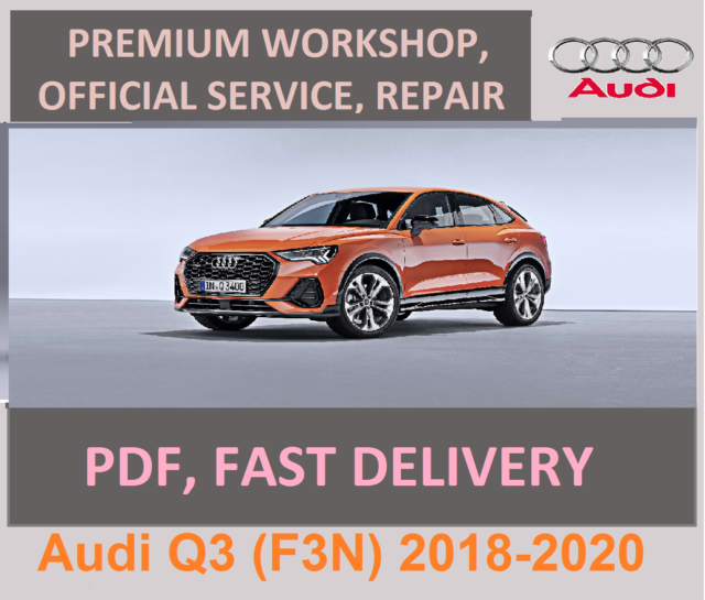 Audi Q3  F3n  2018