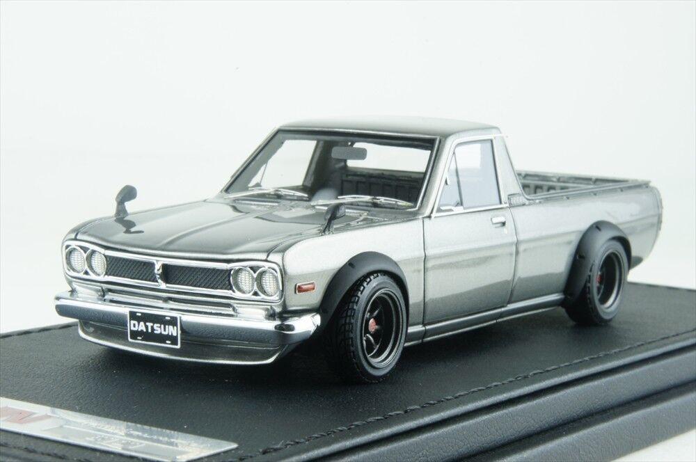 Ignición Modelo 1/43 Nissan hakotora Largo Plata Watanabe rueda IG1506