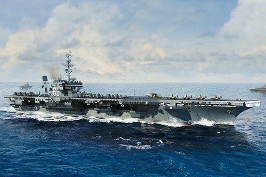 Trumpeter 06714 1 700 USS Kitty Hawk CV-63, Kitty Hawk Class Aircraft Carrier