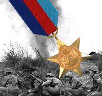 British WW2 1939-45 Star Medal GRI VI - Full Size UK Made Military Service Award