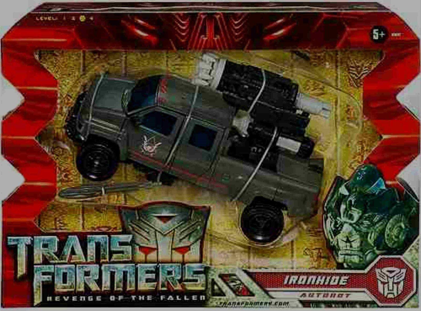 Transformers 8  viaje clase la venganza de los caídos Ironhide Nuevo Sellado De Fábrica