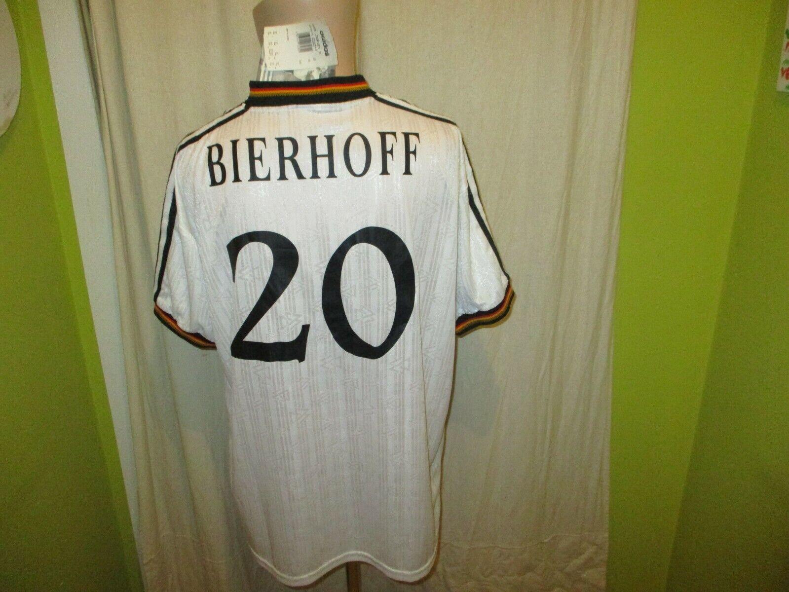 Deutschland  DFB  Adidas EM Sieger Trikot 1996 + Nr.20 Bierhoff  Gr.XL Neu