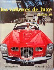 Les voitures de luxe annees 50 Massin