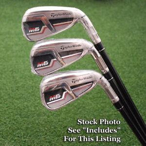 Details about TaylorMade M6 Individual Irons 4/5/6 Steel/Graphite Flex  Reg/Stiff/Senior NEW