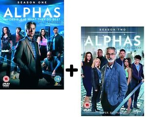 Details about ALPHAS 1+2 (2011-2012) COMPLETE Action Sci-Fi, SyFy TV Series  Season NEW Rg2 DVD