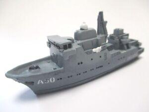 Marine-Bateau-Alster-Flottendienstboot-Bateau-12-CM-Polyresine-Ship-Collector