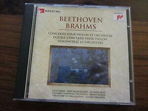 BEETHOVEN-BRAHMS-CONCERTOS-EDITION-MAESTRO-SONY-CD