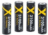 Ultra Hi Power 4 Aa Battery For Samsung Sl30 Sl35 Sl40