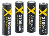 Ultra Hi Power 4 Aa Battery For Samsung Sl30 Sl35 Sl40