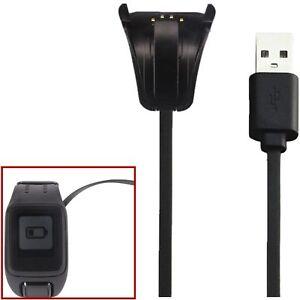 USB-Kabel-Ladegeraet-Ladestation-Dock-fuer-TomTom-Spark-Cardio-GPS-Uhr-Sportuhr