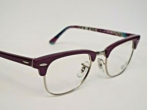 df2acc3f2 Authentic Ray-Ban RB 5154 5652 Violet Silver Eyeglasses Clubmaster ...