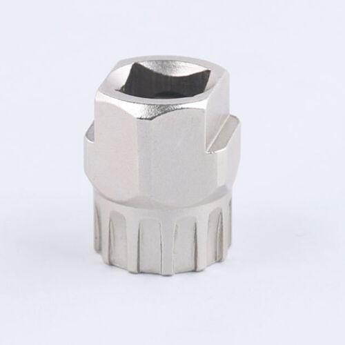 Cassette Flywheel Freewheel Removal Repair Disassembly Sleeve 12 Teeth Bike Tool