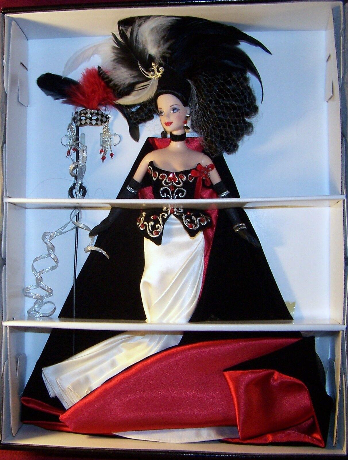 Mattel Masquerade Gala Illusion Barbie Doll With Cert. RARE MIB In Original Box
