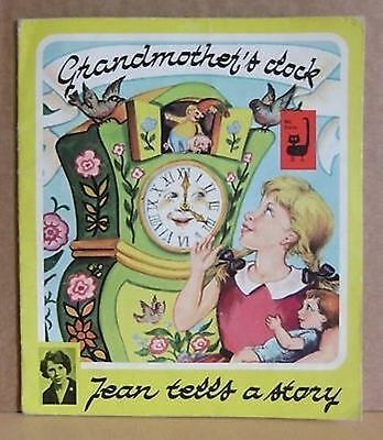 Grandmother's Clock Jean tells a story Hardy Pb children's picture vintage book