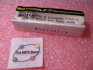 MCR2605-3-Transistor-SCR-Rectifier-Thyristor-Motorola-NOS-Vintage-Qty-1