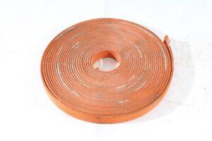1x Roll Webbing Belt Fabric orange approx. 49 3/12ft 0 31/32in B Strength