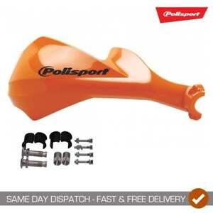 Polisport Sharp Motocross Enduro Motor Bike Handguards Orange Fitting Kit
