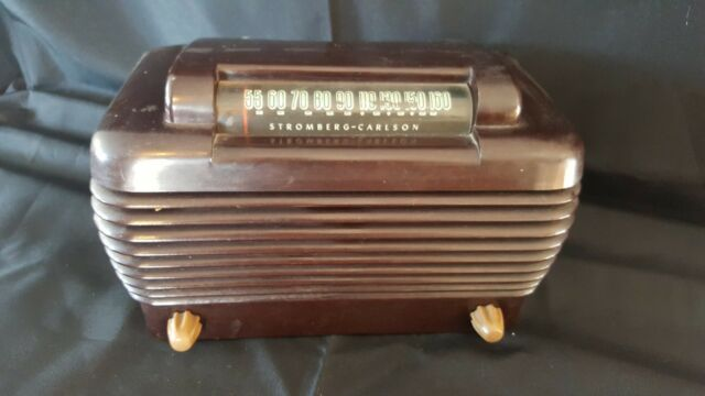 Vintage Stromberg-Carlson Model 1500-H Dynatomic 5-Tube AM Radio - cir 1947