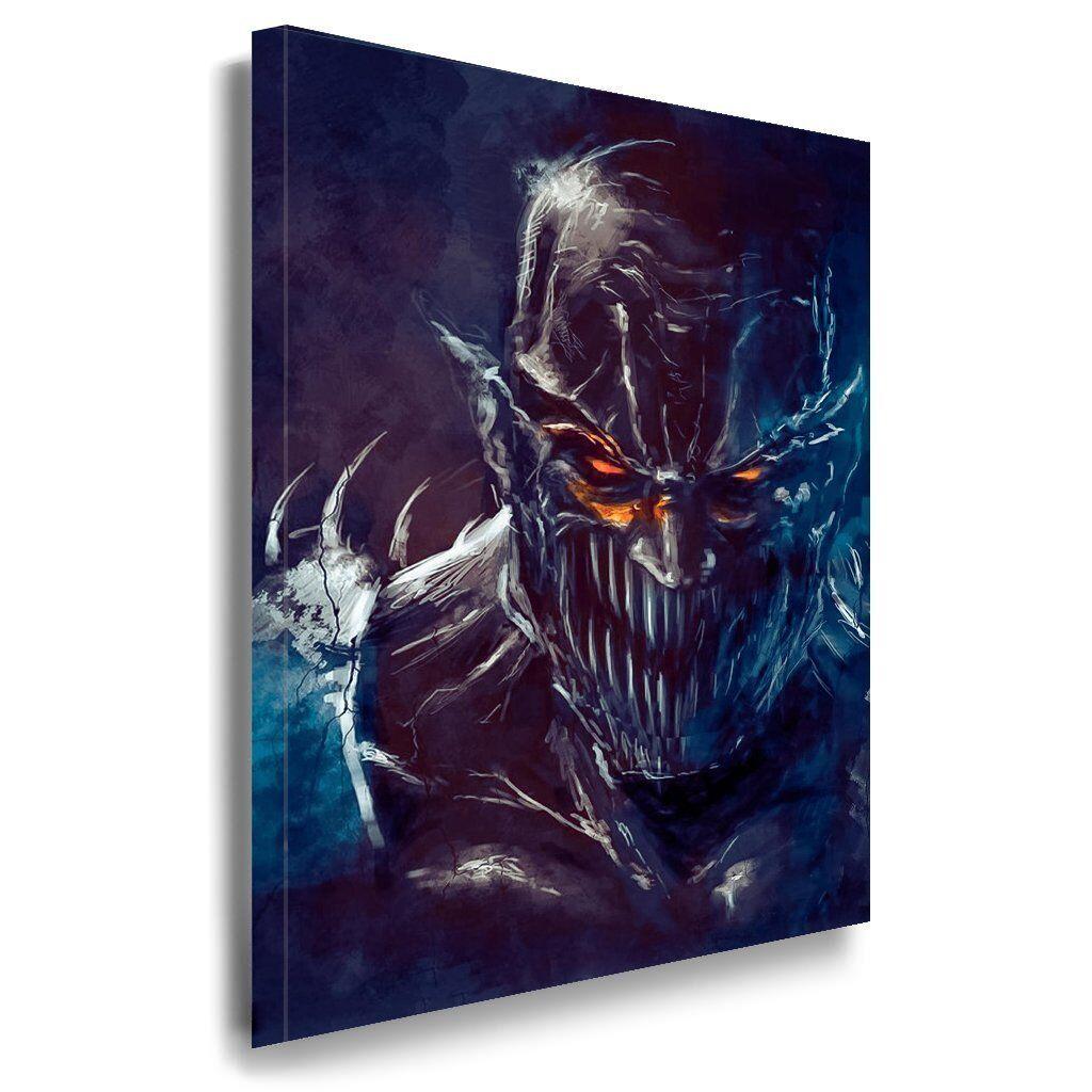 Mortal Kombat Leinwandbild   AK Art Bilder   Mehrfarbig + Kunstdruck Wandbild