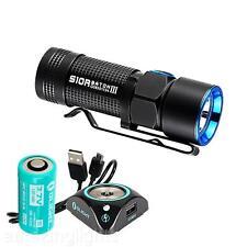 Olight S10R III 600 Lumen Small EDC USB Rechargeable LED Flashlight w/ Battery