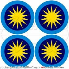 """MALAYSIA Royal Malaysian AirForce TUDM Roundel Vinyl Decals Stickers 2""""(50mm) x4"""