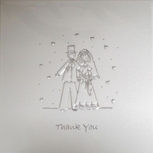 5 PER PACK SILVER WEDDING INVITES EVENING INVITATIONS GIFT THANK YOU CARDS