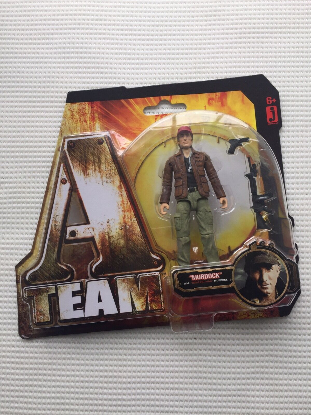 A-Team-Murdock Figura-HM  ululare MAD  Murdock TOMY 2010-NUOVO CON SCATOLA SIGILLATA