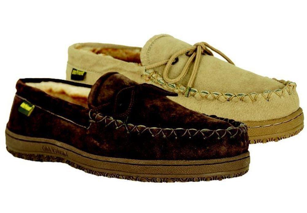 Old Friend Men's Washington Acrylic Fleece Loafer Moccasin 588160