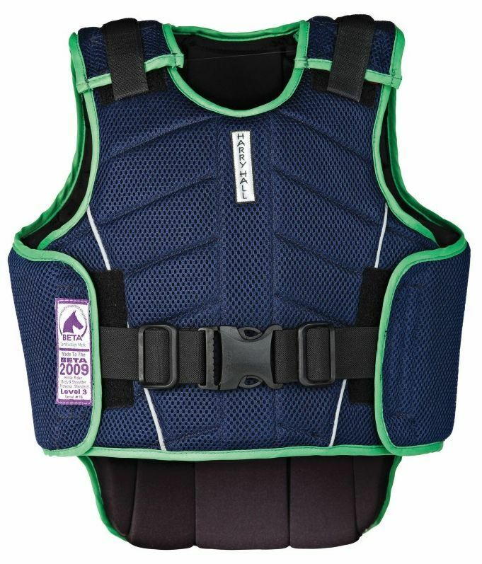 Harry Hall zeus body protector beta beta protector level 3 child's horse riding protector ad94a5