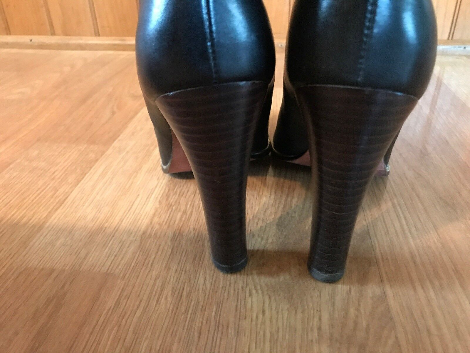 JEAN-MICHEL CAZABAT LUXURY REBEL BLACK LEATHER KNEE HIGH BOOTS BOOTS BOOTS Size 9 26e2cf