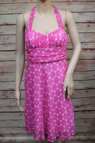 Speechless Womens Halter Dress Size 9 Pink White P