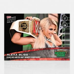 2018-TOPPS-NOW-WWE-41-ALEXA-BLISS-CASHES-IN-TO-WIN-THE-RAW-WOMEN-039-S-CHAMPIONSHIP