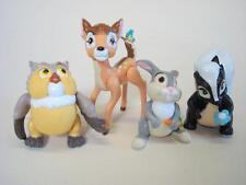 McDonald's Happy Meal Toy Lot - Disney Bambi + Friends Set of 4 Figures
