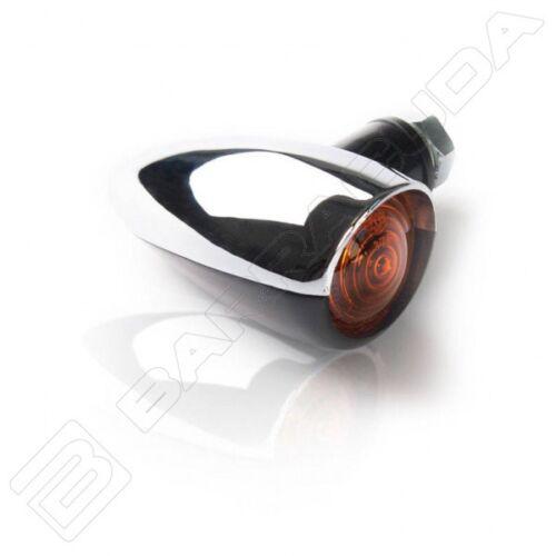 BARRACUDA FRECCE LAMPADA FONZIE CROMATE OMOLOGATE per HONDA VTX 1300 S//1800 C