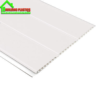 Ceiling Cladding White 6000mm x 300mm Hollow Pvc Panel