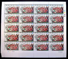 GB Football Thematics 1992/3 FA Cup Final 10 Sheets of 20 (200) SALE PRICE BN178