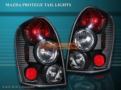 2002-2003 MAZDA PROTEGE-5 5 DR TAIL LIGHTS JDM BLACK