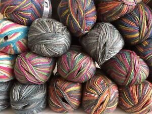 Opal-Sport-sock-yarn-100g-Five-shades-One-ball-knits-one-pair